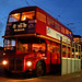 London Routemaster By Twilight.