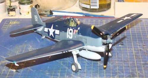 """Grumman F6F-3 Hellcat, """"Vit 19 Vraciu"""", Eduard 1/48 - Sida 3 38546045061_5a8cdebdf9"""