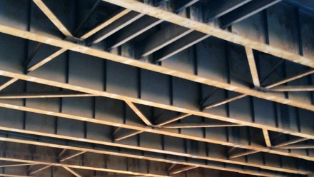Bridge Underside Structure
