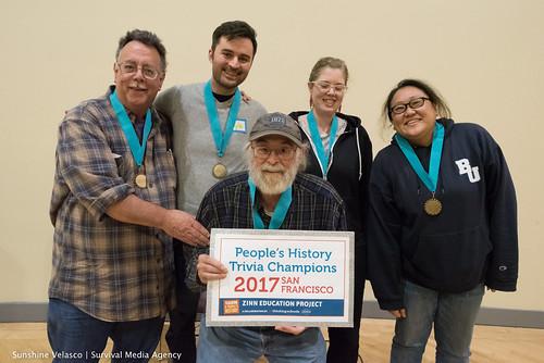 People's History Trivia Night 2017 SF