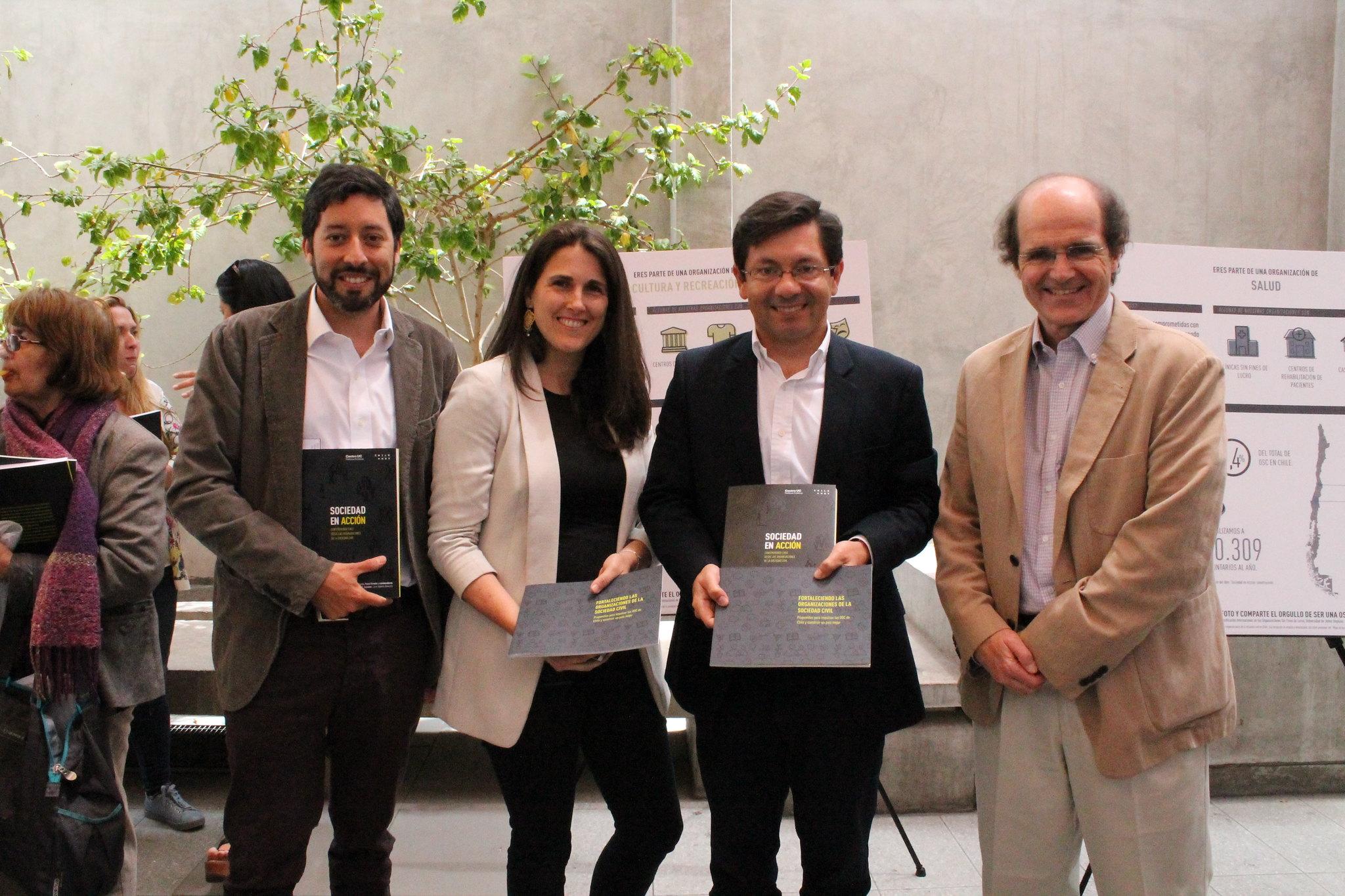 Lanzamiento Libro Sociedad en Acción en Regiones