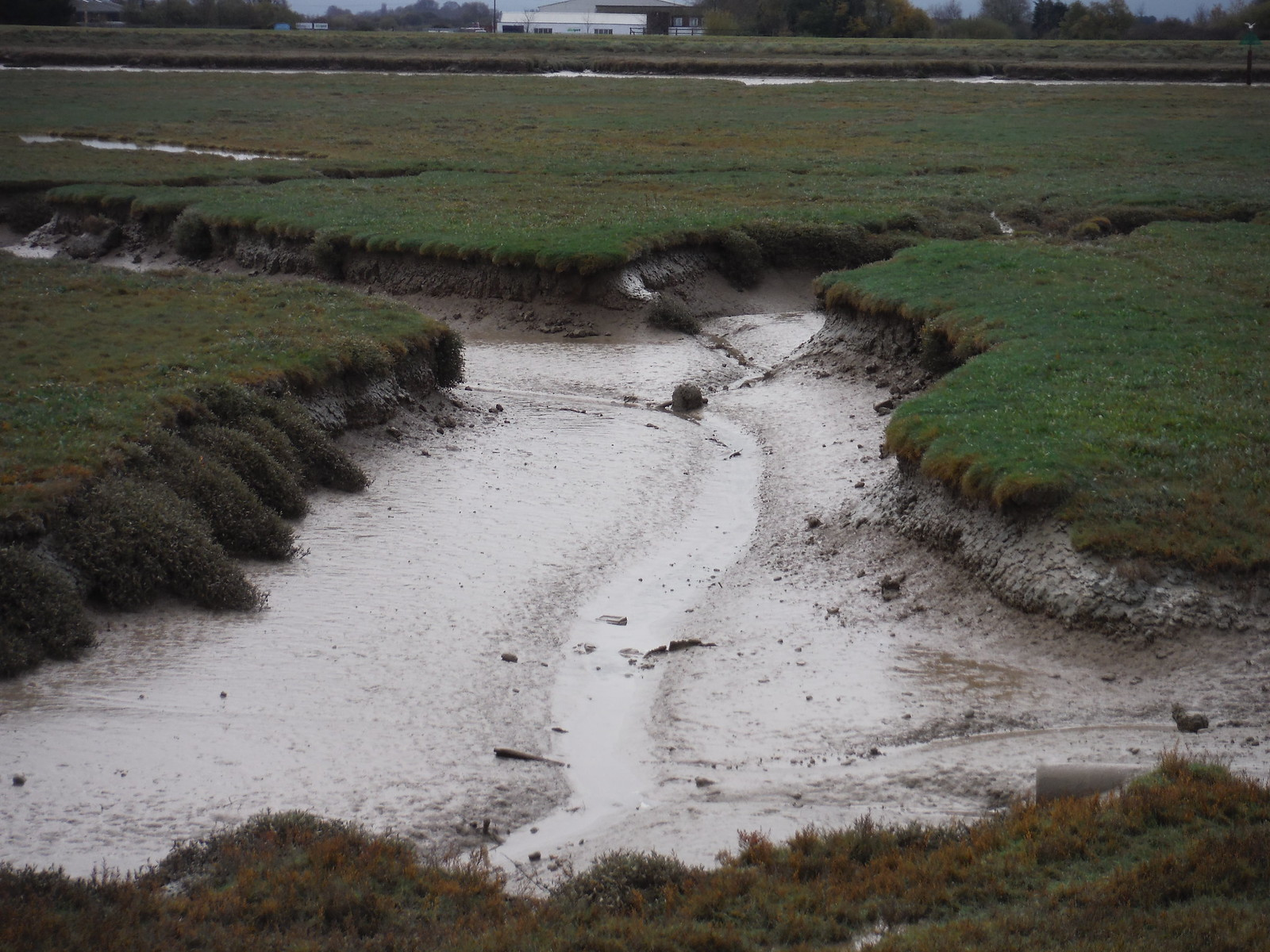 Muddy Channel, off River Rother SWC 154 - Rye to Dungeness and Lydd-on-Sea or Lydd or Circular