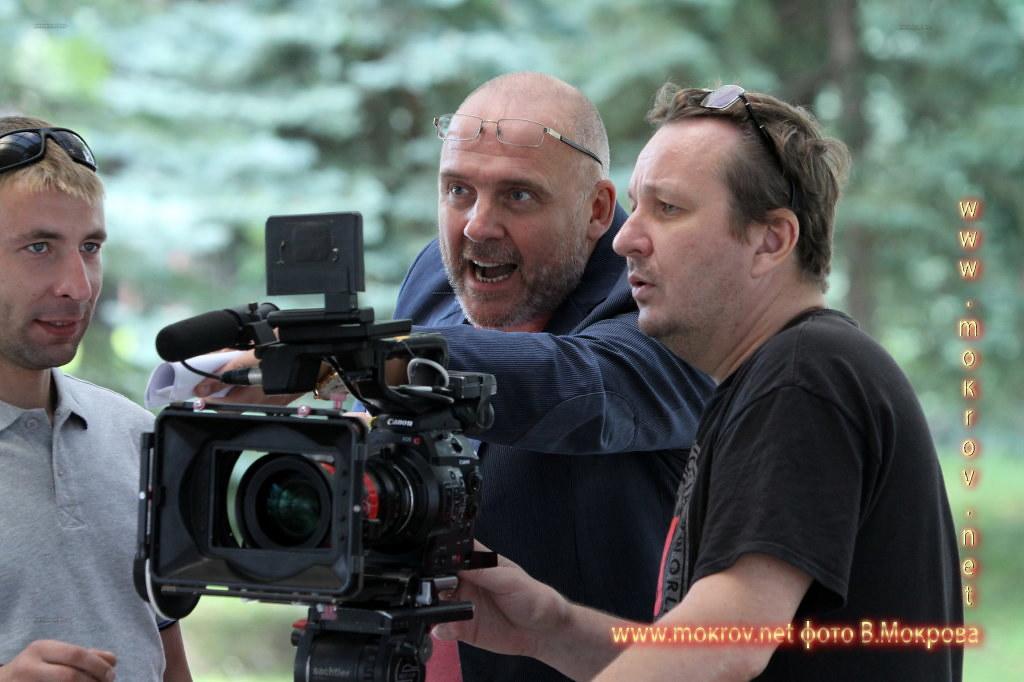 На съемках Телесериала «Морозова» фотографии «Морозова. Сезон второй», повествующего о непростой работе отечественных криминалистов.