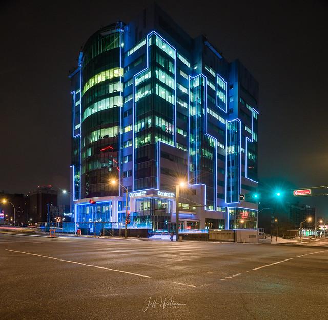 Jasper + 109 Street, Edmonton [Explored], Nikon D850, PC-E Nikkor 24mm f/3.5D ED