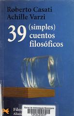 Roberto Casati, 39 simples cuentos filosóficos