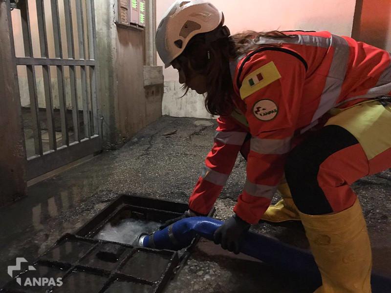 Emergenza maltempo in Abruzzo: l'assistenza dei volontari Anpas