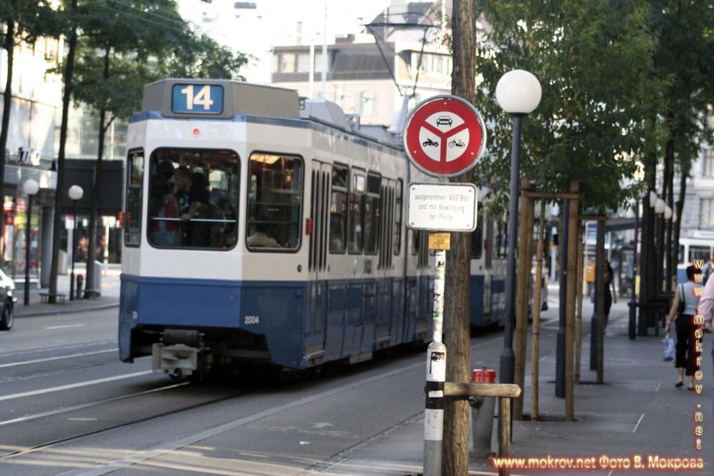 Город Цюрих - Швейцария фото достопримечательностей