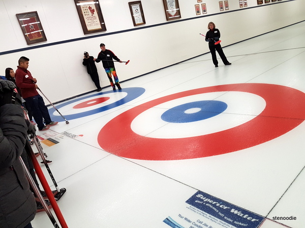 Unionville Curling Club curling sheet