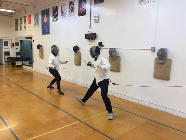 Fencing Épée
