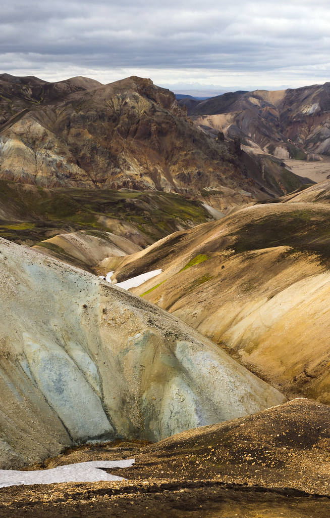 Colours in Landmannalaugar