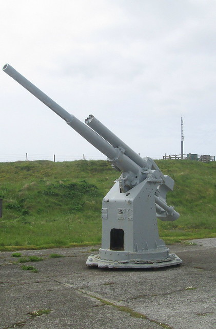 Gun, Lyness Naval Museum, Hoy