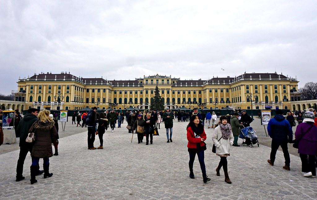 Schönbrunnin linnan joulumarkkinat