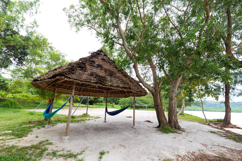Beachside Relaxation at Telunas Beach Resort