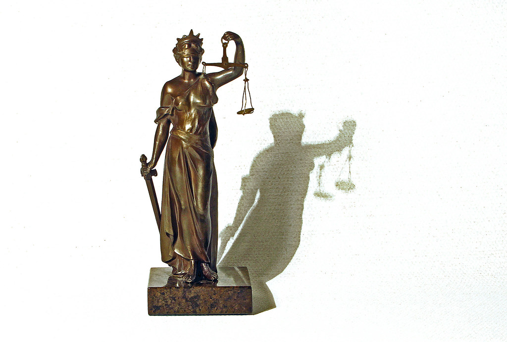 Justitia - the roman goddess of justice