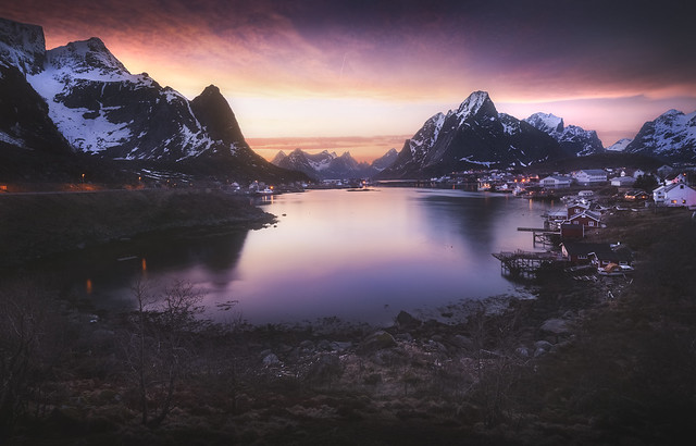 le Fjord de Reine