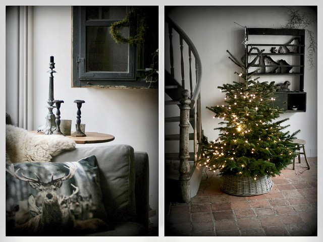 Collage kerstboom