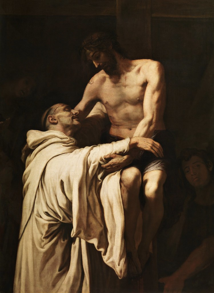 Francesc Ribalta - S. Bernardo abbraccia il Cristo (1625-27)