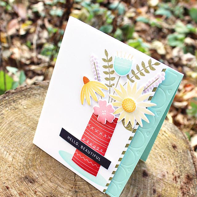 Hello Beautiful Card 3