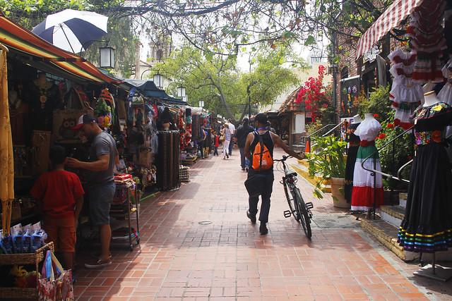 Olvera Street, LA