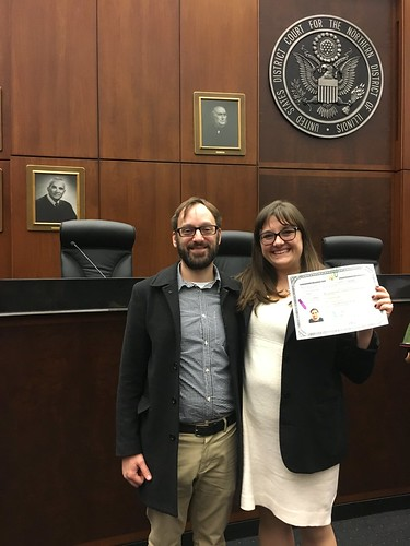 Jen Becomes an American Citizen