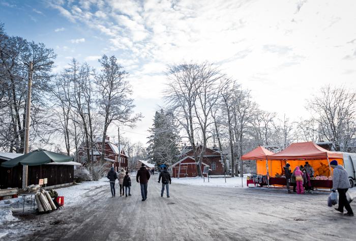strömforsin ruukin joulu 2017 ruukki ruotsinpyhtää vanhat rakennukset