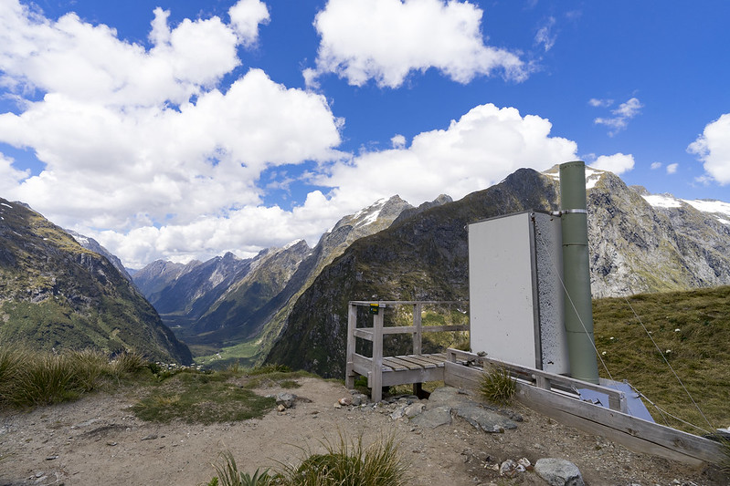 The toilet with the best beautiful view in the world