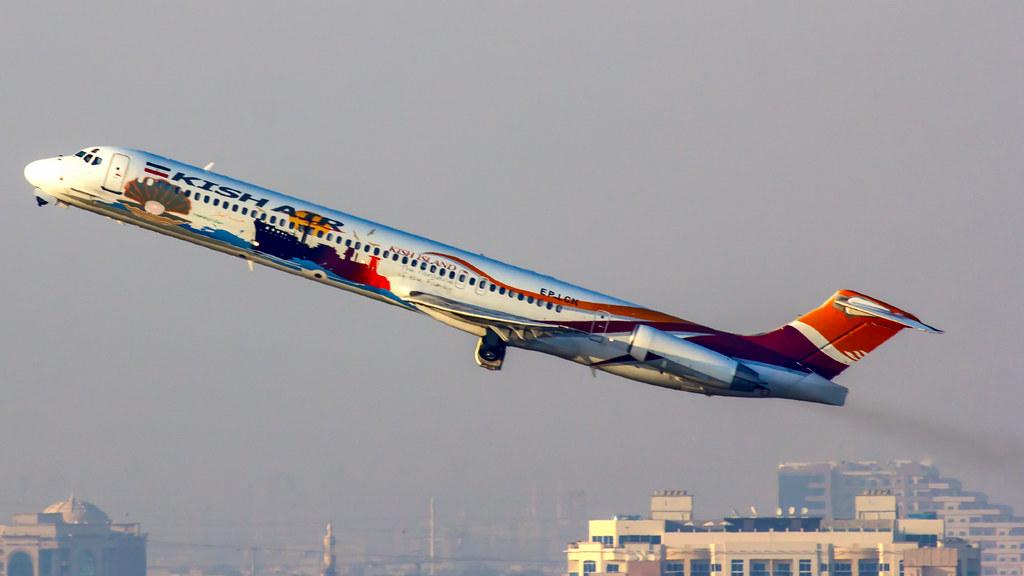 Kish Air McDonnell Douglas MD82 (DC9-82) EP-LCK Dubai (DXB/OMDB)