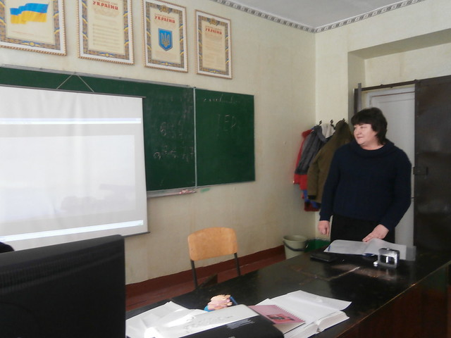 Відкрита виховна година до Дня збройних сил України