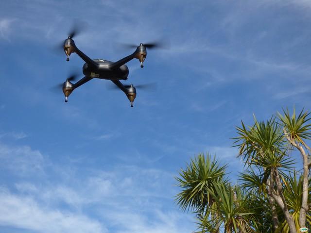 Header of dron