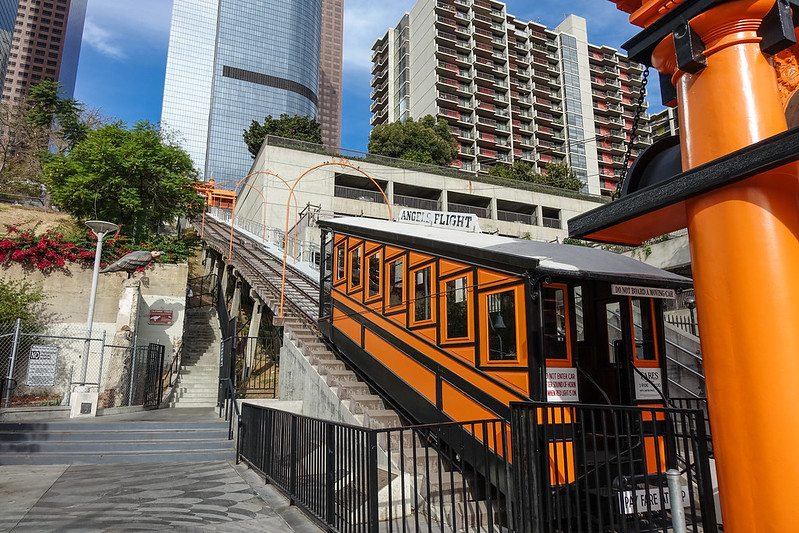 Angel's Flight, Los Angeles, California