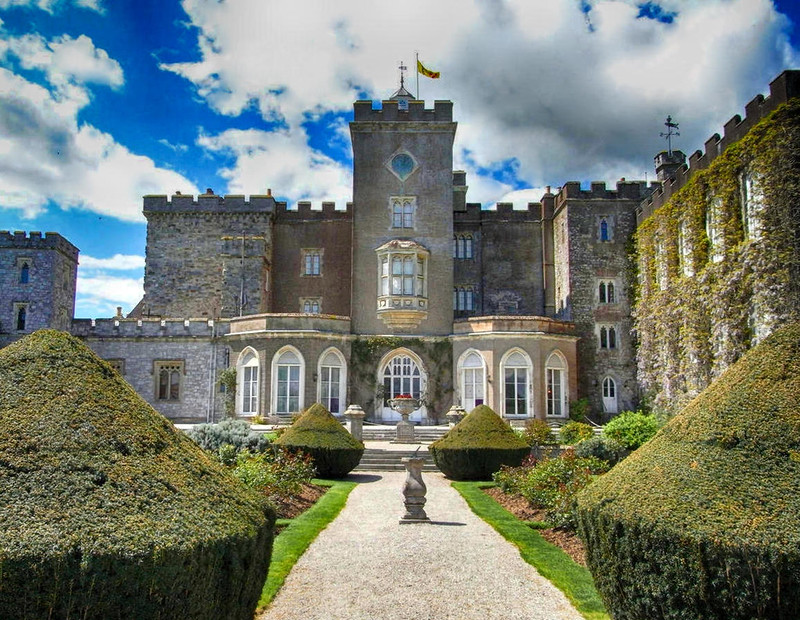 Powderham Castle, Devon, east front