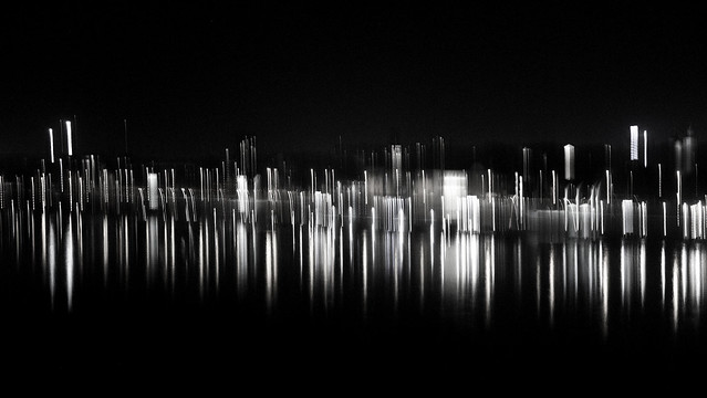 night abstract