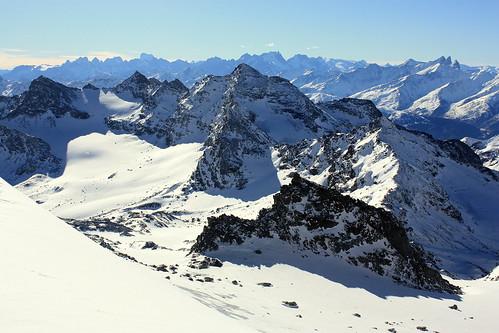 Pointe Rénod et Pointe du Bouchet (3416 m)