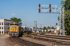 UP 3955 | EMD SD70M | UP Memphis Subdivision
