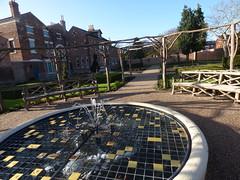 Shakespeare Garden - Lightwoods House - Lightwoods Park - fountain