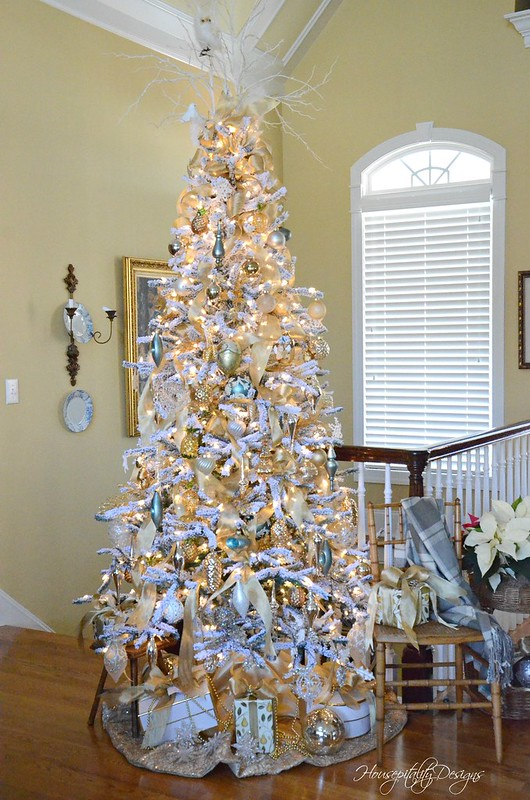 Flocked Tree-Housepitality Designs-8