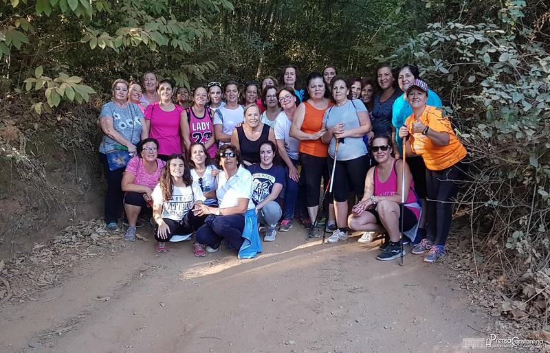 Taller Caminatas Mujeres Constantina 2017