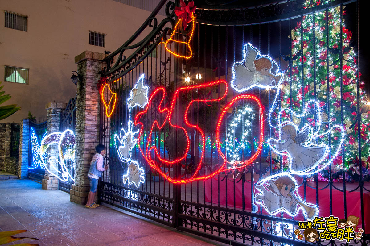 鳳山最美教堂聖誕景點-24