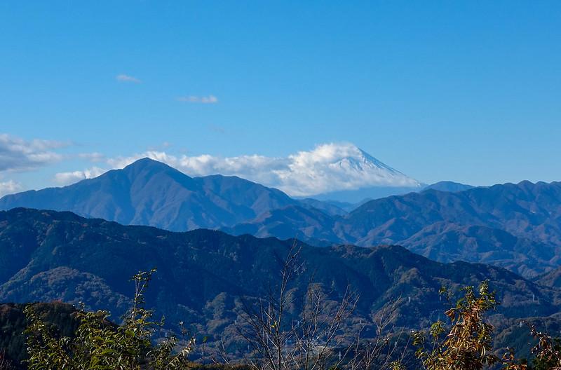 高尾山の風景