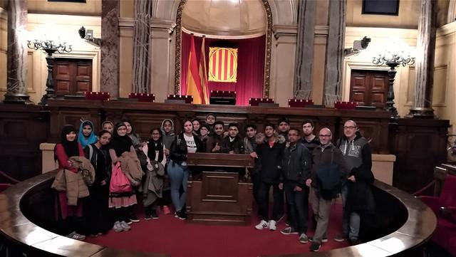 3r d'ESO al Parlament de Catalunya