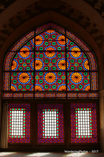 Stained Glass Windows - Arg-e Karim Khan Zand - Shiraz Iran
