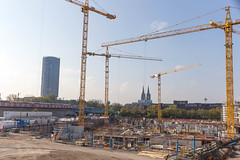 Construction site MesseCity Cologne