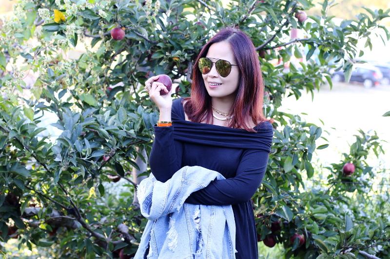 denim-jacket-black-dress-apple-trees-4