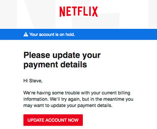 "Netflix ""there was a problem"""