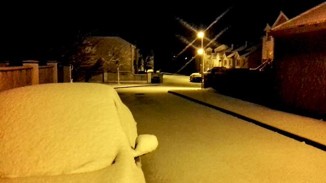 Snow in Boyle