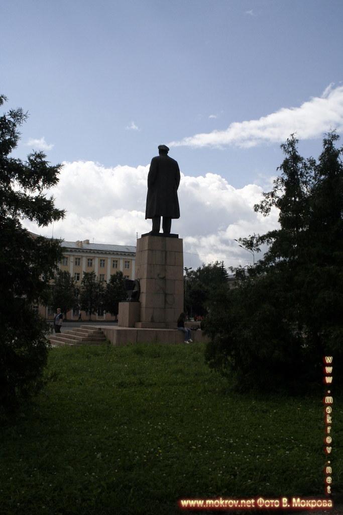 Город Йошкар-Ола. Памятник Ленину