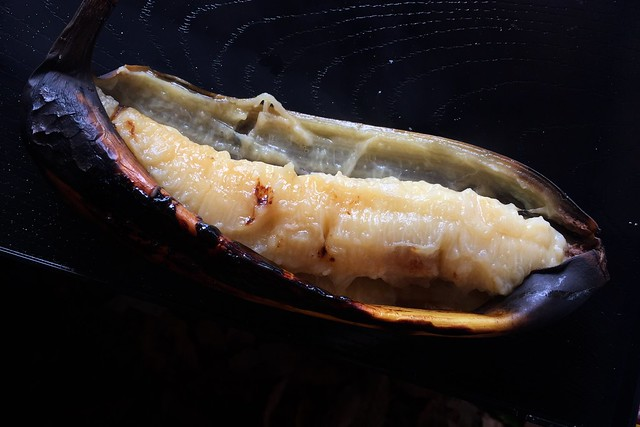 baked banana