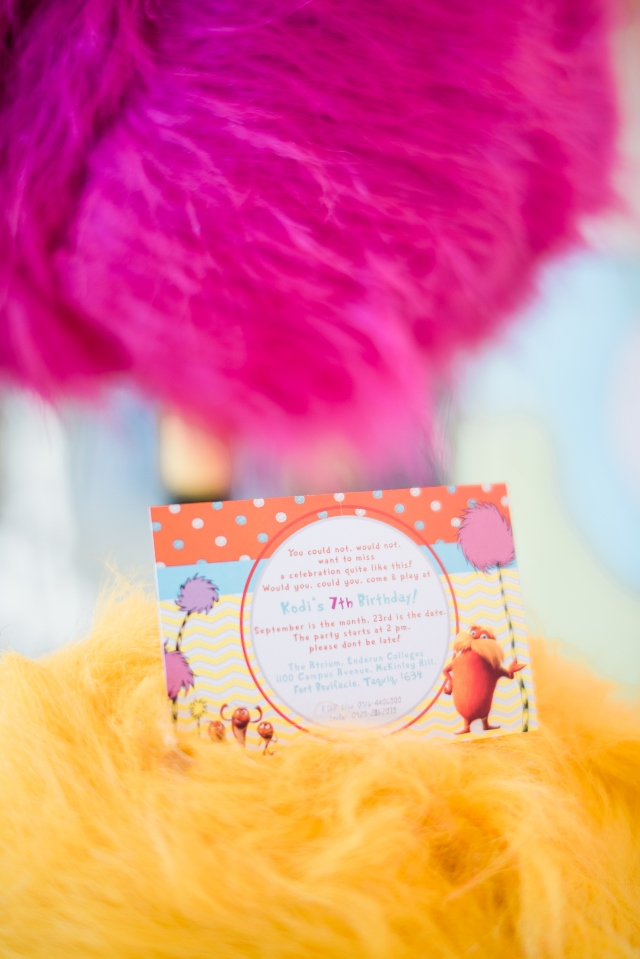 the lorax invites