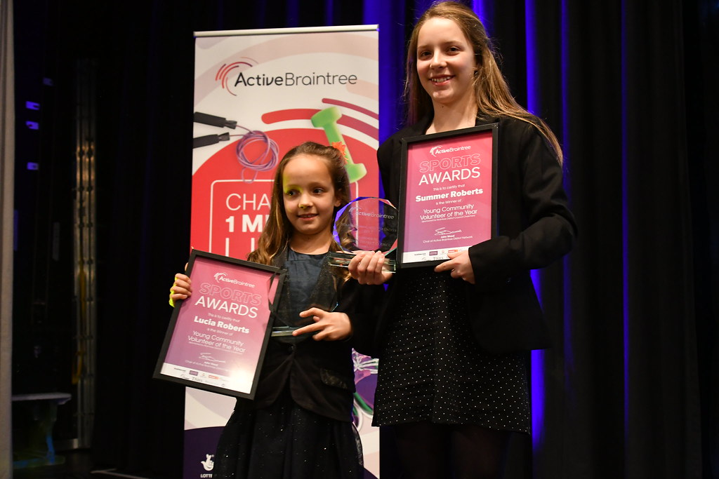 Young Community Volunteer Award winners