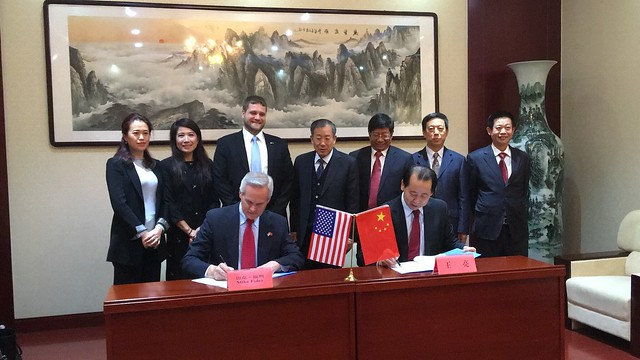 Lt. Gov. Foley Signs Memorandum of Understanding in China